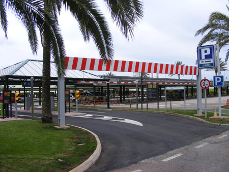 Parking at Minorca Airport